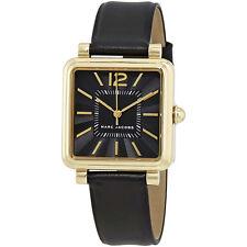 Marc Jacobs Vic Black Dial Ladies Black Leather Watch MJ1522