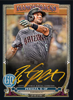 2020 Topps BUNT David Peralta Gypsy Queen S2 GOLD Signature ICONIC DIGITAL CARD
