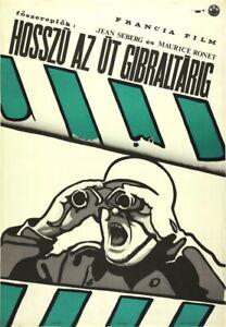 Vtg Orig Movie Poster LA LIGNE DE DÉMARCATION / LINE OF DEMARCATION 1967  France