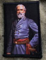 Civil War General Robert E. Lee Morale Patch Tactical Military Army Badge Hook