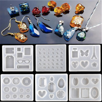 Simple Necklace pendent Silicone Mould DIY Resin Decor Craft Jewelry Making Mold