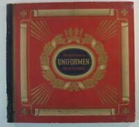 Waldorf Astoria Uniformen der alten Armee Sammelbilder Album vollständig Y5-460