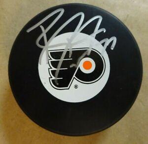Autographed RYAN PARENT Signed Philadelphia Flyers Hockey Puck
