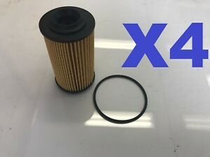 4X Oil Filter Suits R2605P / WCO4 HOLDEN COMMODORE STATESMAN VZ VE WM 3.0L 3.6L