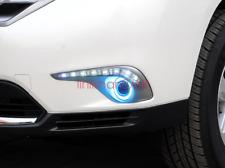 2x LED Daytime Running Fog Lights Lamp DRL For Toyota Highlander 2012 2013 2014