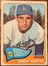 1965 Topps #300 Sandy Koufax Dodgers HOF Nice EX-MT Centered