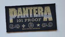 PANTERA - Whiskey Label - Patch - 10,2 cm x 5,3 cm - 164507