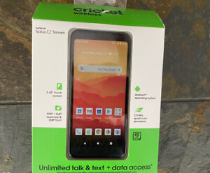 Cricket Wireless Nokia C2 Tennen - 32GB Prepaid Smartphone