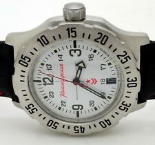 RUSSIAN VOSTOK #350514 MILITARY AUTO WRIST KOMANDIRSKIE WATCH (BRAND NEW)