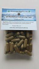50 Dandelion Leaf 500 mg Capsules Diuretic