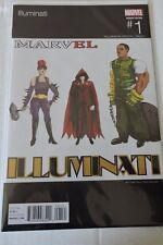 ILLUMINATI #1 HIP-HOP VARIANT COVER-MARVEL COMICS-DR STRANGE