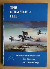 The D.H.4/D.H.9 File. By Ray Sturtivant & Gordon Page. 1999 HB. Photographs