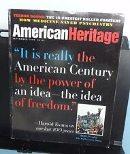 American Heritage ~ SEPTEMBER 1998 ~  The American Century, etc. -- V/G, clean !