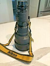 Nikon Nikkor Ai-s Ais 300mm F/2.8 ED IF Lens with Nikon Teleconverter