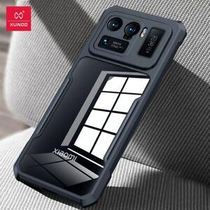 For Xiaomi Mi 11 Ultra Case / 11 Lite 5G Cover Airbag Shockproof Bumper Black