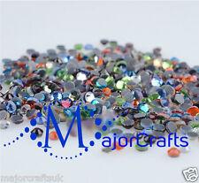 1440pcs Mixed Colours 2mm ss6 Flat Back A+ DMC Glass Hotfix Rhinestones Crystals