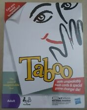 New & Sealed - Hasbro - Taboo Board Game - The Game of Unspeakable Fun