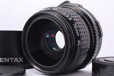 MINT SMC PENTAX 67 75mm F/2.8 AL Lens for Pentax 67 67II w/ Hood From Japan