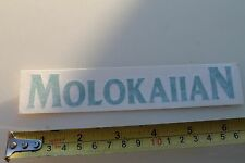New listing Molokaiian Surfboards Hawaiian Rare Vintage Surfing Sticker
