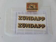 Zündapp DBK Tankkappe ZÜNDAPP transfer, (#124)