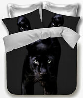 Black Panther Duvet Doona | Quilt Cover Set by Georges | Animal Print | Big Cats