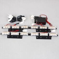 4x9 LED Amber Car Police Emergency Flash Strobe Light 3 Flashing Modes 12V JUK