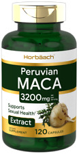 Horbäach Maca Root 3200mg Capsules - 120 Count