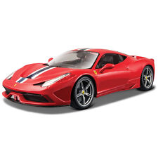 Bburago 1:18 Ferrari 458 Speciale con Muchos Detalles Modelo Fundido