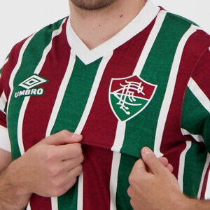 Umbro Fluminense 1985 Home Retro Shirt - New Oficial FutFanatics