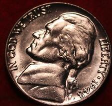 Uncirculated 1948 Philadelphia Mint Jefferson Nickel