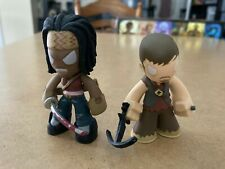 FUNKO Mystery Minis Walking Dead DARYL DIXON and MICHONNE figure lot