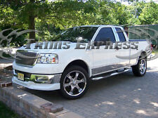 04-08 F-150 Super Cab 5.5' Short Bed w/Flare Rocker Panel Trim Stainless Steel