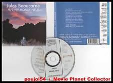 "JULOS BEAUCARNE ""Monde Neuf"" (CD) 1990"