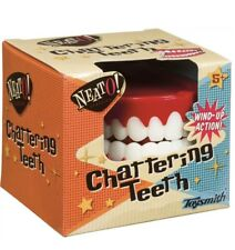 Retro Large Chattering Teeth Plastic Wind Up