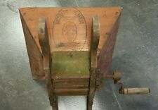 Vintage wooden Baccellieri Bros. Mfg Grape / Fruit presses and crusher