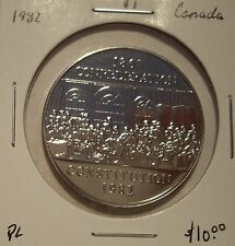Canada Elizabeth II 1982 Constitution Commemorative Dollar - PL