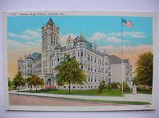 Chester High School, PA, USA. (Philadelphia - early 1900s)