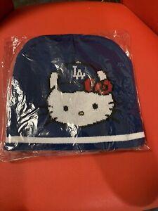 Los Angeles Dodgers Hello Kitty Knit Cap beanie SGA 9/14/21 HELLO KITTY NIGHT!