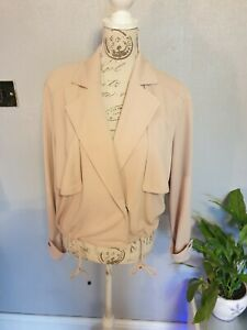 Dusty pink TU Jacket Size 12 New