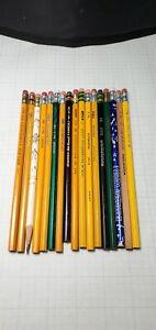 17 Wood Pencils - U.S. Steel, Wallace, Dixon, General's, Sanford