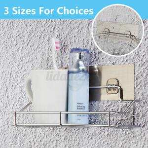 Waterproof Shower Storage Shelf Rack Wall Organizer Bathroom Suction Holder