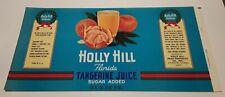 Holly Hill Florida Tangerine Juice Holly Hill Fruit Products Davenport Florida