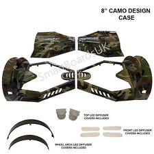 "Camo 8"" Trasformatore skateboard in plastica Shell SWEG custodia 8 in (ca. 20.32 cm) ** UK **"