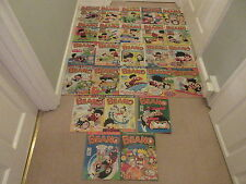 BEANO COMICS  x 25 from 1998-Job Lot- very good condition- consecutive Numbers