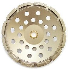 """7"""" Standard Single Row Concrete Diamond Grinding Cup Wheel for Angle Grinder"""