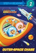 Outer-Space Chase (Team Umizoomi) (Step into Reading)-ExLibrary
