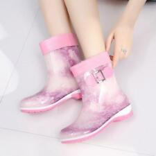 Rain Boots Women S Size Rubber High Boot New Original Mid Calf Waterproof Hunter