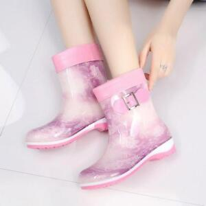 Rain Boots Women S Size Rubber High Boot New Original Mid Calf Waterproof Hunter
