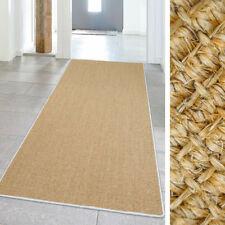Tapis fibres naturelles pour le couloir
