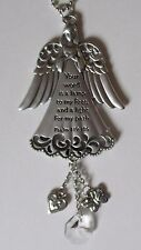 u Your word is a lamp to my feet scripture GUARDIAN ANGEL CAR MIRROR CHARM ganz